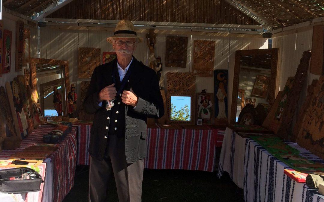 Müller György fafaragó művész